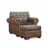 American Furniture Classics Deer Teal Lodge Upholstered Chair