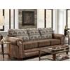 American Furniture Classics Sofa in Deer Teal Lodge
