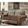 American Furniture Classics Deer Teal Lodge Sofa Sleeper