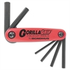 Bondhus GorillaGrip Fold-Up Tool Set, 1.5mm-6mm
