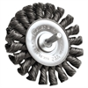"Dualife STM-3 Twist Knot Wire Wheel, 3"" dia, .02 Wire"