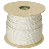 "Hooven Allison Twisted Nylon Rope, 3/8"" x 300ft, White"
