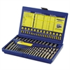 IRWIN 35-Piece Screw Extractor/Drill Bit Set; SAE