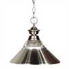 Z-Lite 1 Light Pendant Brushed Nickel