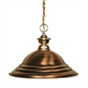 Z-Lite 1 Light Pendant Polished Brass