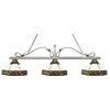 3 Light Billiard Light Antique Silver
