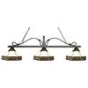 3 Light Billiard Light Golden Bronze