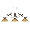 3 Light Island/Billiard Light Bronze