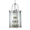 12 Light Pendant Chrome
