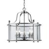 Z-Lite 5 Light Pendant Chrome