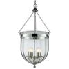 Z-Lite 6 Light Pendant Chrome
