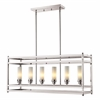 Z-Lite 6 Light Pendant Brushed Nickel