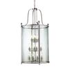 12 Light Pendant Brushed Nickel