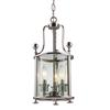 Z-Lite 3 Light Pendant Brushed Nickel