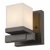 Z-Lite 1 Light Wall Sconce Bronze