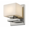 Z-Lite 1 Light Wall Sconce Brushed Nickel