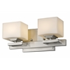 Z-Lite 2 Light Vanity Light Brushed Nickel