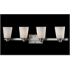 Z-Lite 4 Light Vanity Light Brushed Nickel