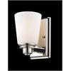 Z-Lite 1 Light Vanity Light Chrome