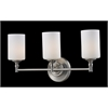 3 Light Vanity Light Satin Nickel
