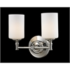 2 Light Vanity Light Chrome
