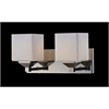 Z-Lite 2 Light Vanity Light Chrome