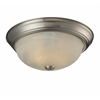 2 Light Ceiling Brushed nickel