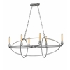 Z-Lite 6 Light Chandelier Old Silver