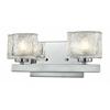 2 Light Vanity Light Chrome