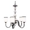 5 Light Chandelier Chrome