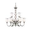 9 Light Chandelier Chrome