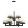Z-Lite 9 Light Chandelier Bronze