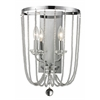 Z-Lite 2 Light Wall Sconce Chrome