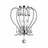 Z-Lite 3 Light Flush Mount Chrome