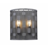 Z-Lite 2 Light Wall Sconce Bronze