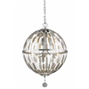 Z-Lite 5 Light Pendant Brushed Nickel