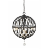 Z-Lite 5 Light Pendant Bronze