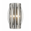 Z-Lite 2 Light Wall Sconce Brushed Nickel