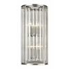 4 Light Wall Sconce Brushed Nickel