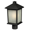 Z-Lite Outdoor Post Light Black