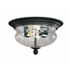 Outdoor Flush Mount Light Black