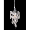 1 Light Mini Chandelier Chrome