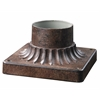 Outdoor Pier Mount Weathered bronze