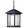 1 Light Outdoor Chain Light Black