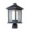 Z-Lite Outdoor Post Light Black