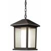 Z-Lite 1 Light Outdoor Chain Light Oil Rubbed Bronze