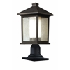 Z-Lite Outdoor Post Light Oil Rubbed Bronze