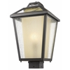 Z-Lite 1 Light Outdoor Post Mount Light Oil Rubbed Bronze