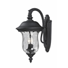Outdoor Wall Light Black