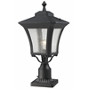 Outdoor Post Mount Light Sand Black